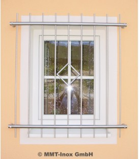 Fenstergitter Edelstahl mit Raute 1800mm x 1000mm