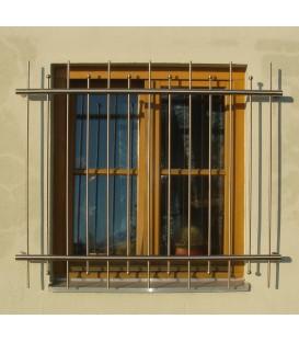 Fenstergitter Edelstahl Standard 1400mm x 800mm
