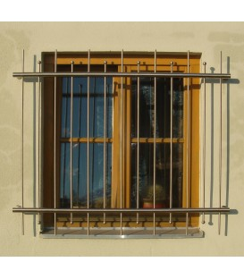 Fenstergitter 2400mm x 800mm Edelstahl Standard